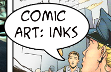 comic art:inks